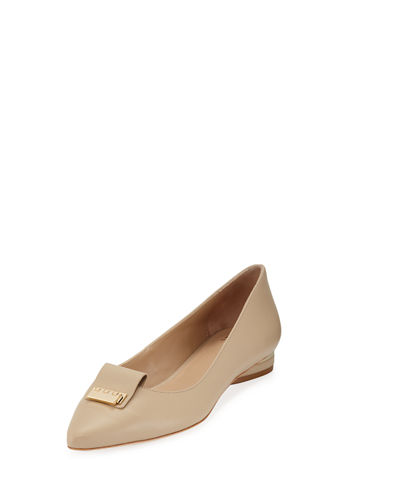 Regan Leather Ballet Flats