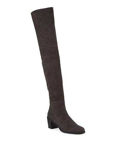 Hitest Over-The-Knee Suede Boot