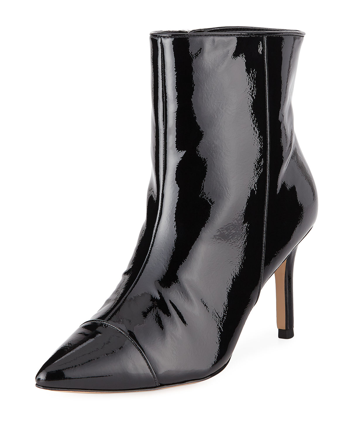Bcbgeneration MIRIAM PATENT FAUX-LEATHER BOOTS