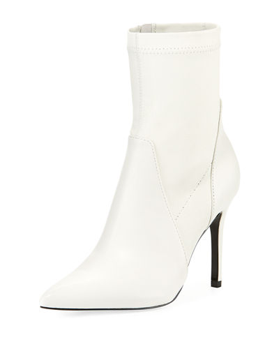 Charles David Laurent Stretch Leather Booties