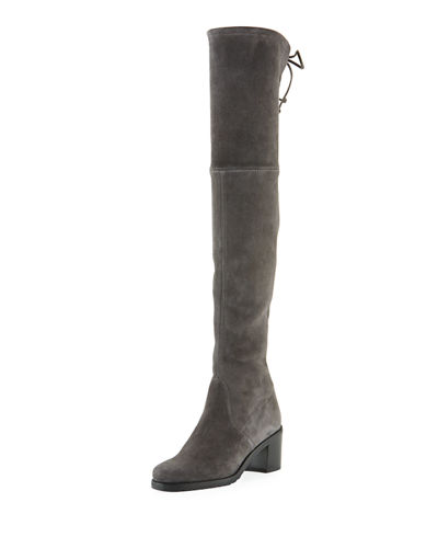 Elevated Stretch Over-The-Knee Boots