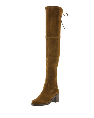 Stuart Weitzman Elevated Stretch Over-The-Knee Boots