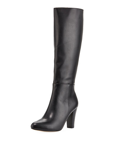 Eyalo Leather Knee Boots