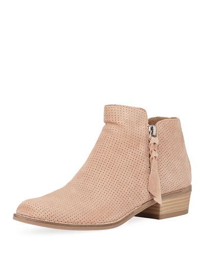 Shelly Classic Low-Heel Booties