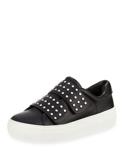 JSlides Accent Stretch-Fabric Sneakers