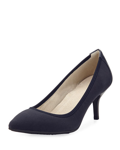 Toby Mid-Heel Stretch Pumps