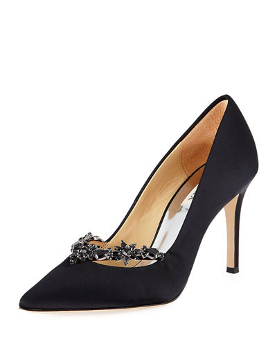 Venetia Embellished Evening Pumps