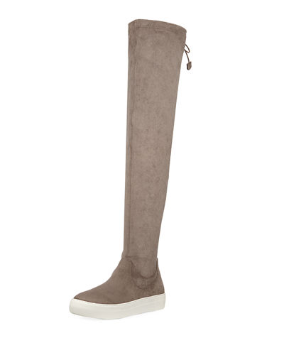 JSlides Ary Knee-High Sneaker Boots