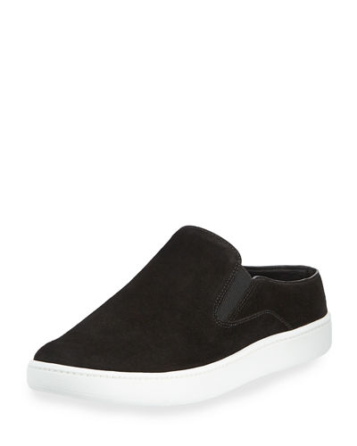 Verrell-2 Suede Open-Back Skate Sneakers