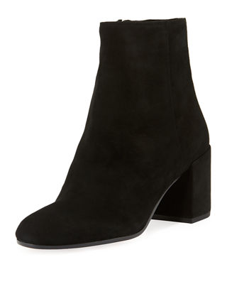 Blakely Suede Booties, Black from Gilt
