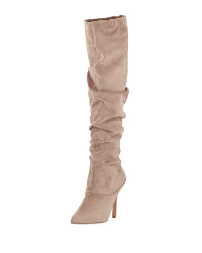 Muller Dressy Scrunchy Suede Boot