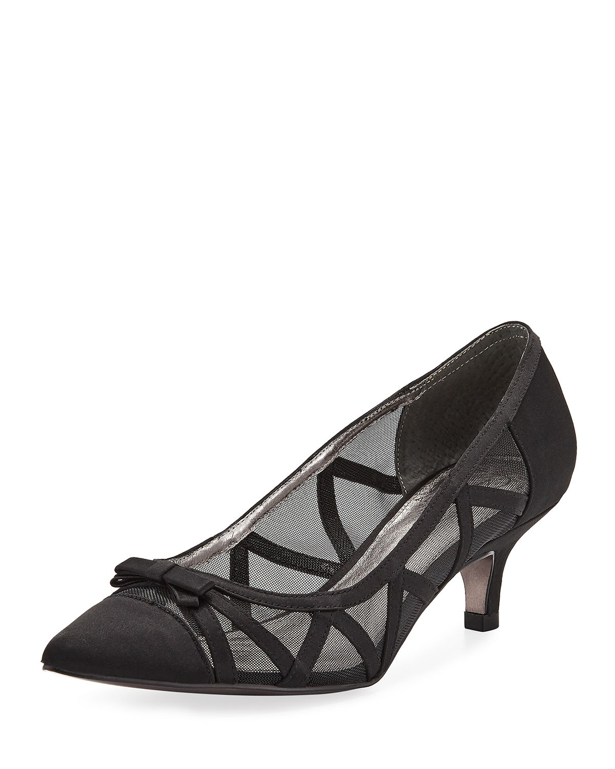 Adrianna Papell LANA POINTED MESH PUMPS
