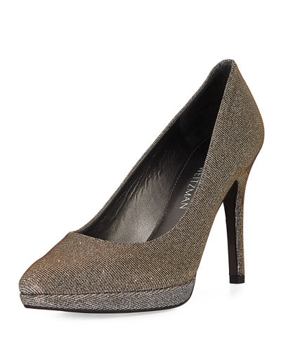 Zsazsa Leather Platform Pumps