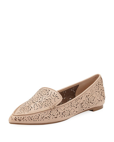 Karl Lagerfeld Paris Danica Patterned Loafers