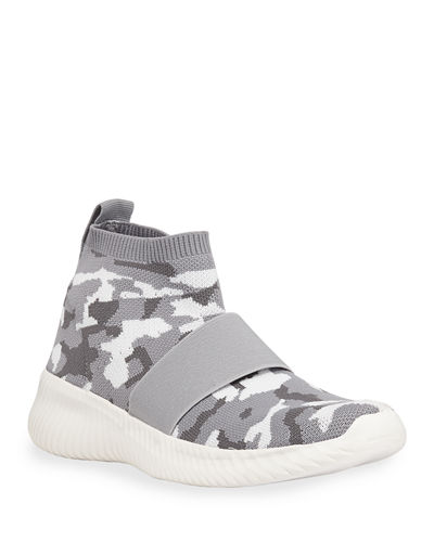 Comfort Camo Mid-Top Sneakers