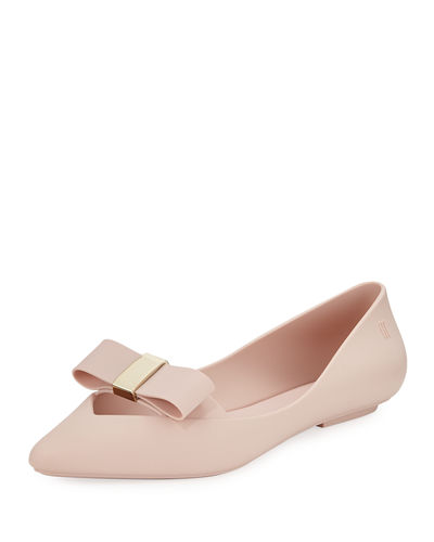 Melissa Shoes Maisie Bow Ballet Flats