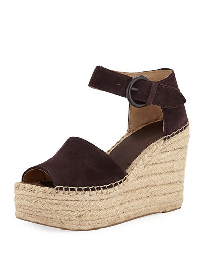 Alida Espadrille Platform Wedge Sandals