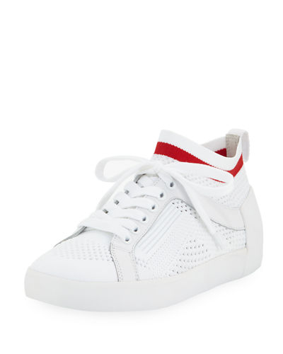 Nolita Knit and Leather Sneakers