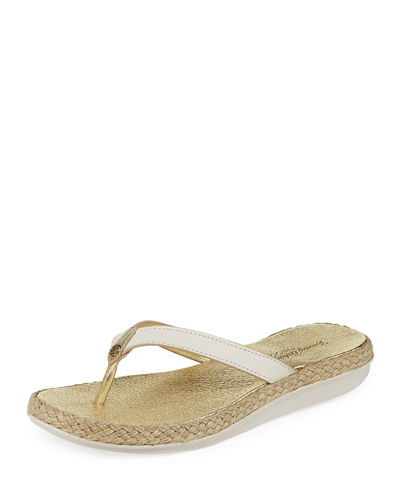 Relaxology™ Flat Thong Sandals