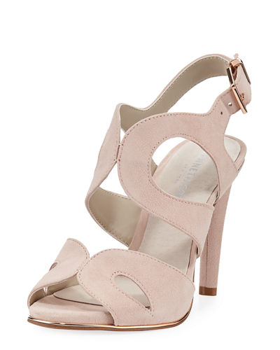 Baldwin Suede Strappy Sandal