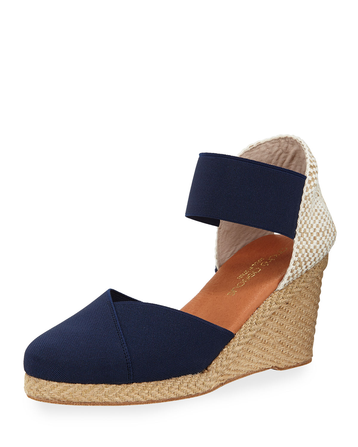 Andre Assous ANOUKA WOVEN WEDGE ESPADRILLES