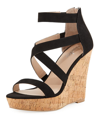 Alexa Strappy Wedge Sandals