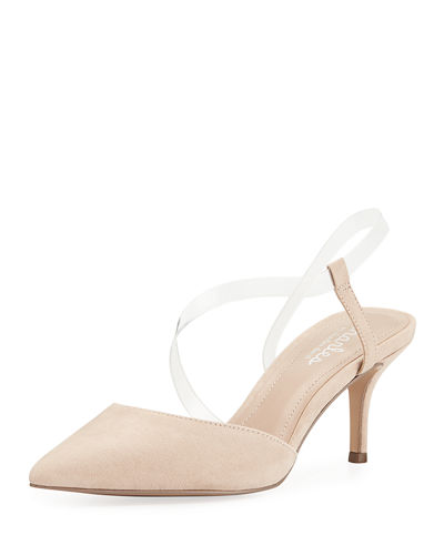 Alda Clear-Strap Pumps