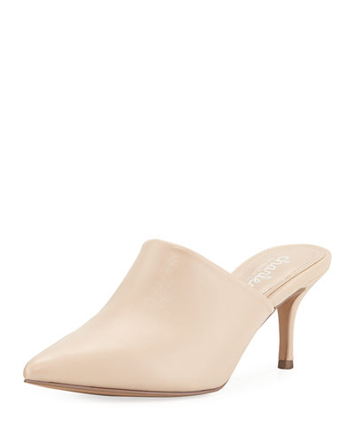 Abree Pointed-Toe Mules