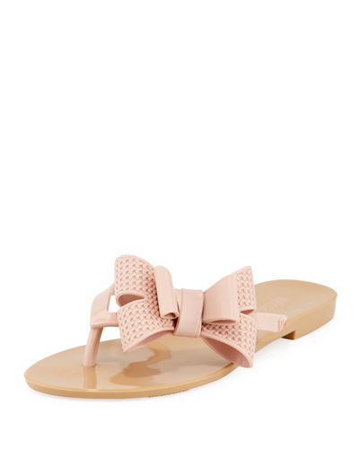 Harmonic Bow Jelly Sandals