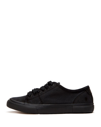Gia Canvas Low-Top Sneakers