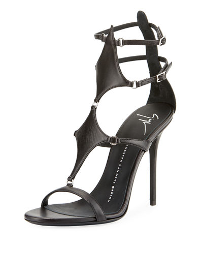 Giuseppe Zanotti Caged Dress Sandals