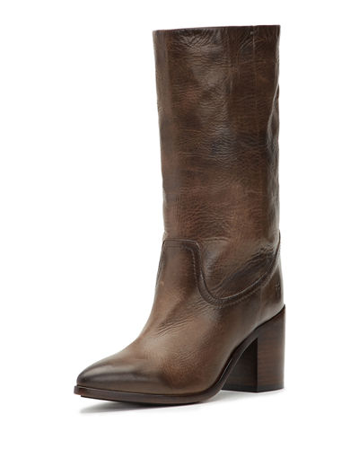 Flynn Mid-Calf Leather Boots