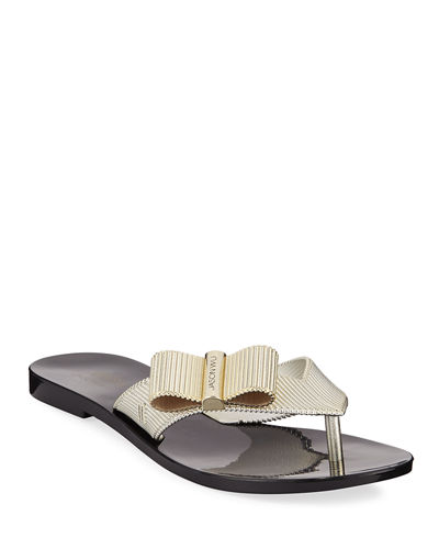 x Jason Wu Girl Chrome Bow Sandals