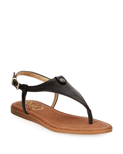 f318abb8c7c5 Designer Flat Shoes   Thong   Slide Sandals at Neiman Marcus Last Call