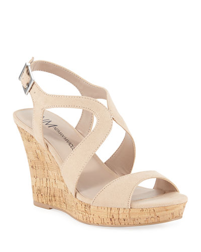 Layton Cork Wedge Sandals