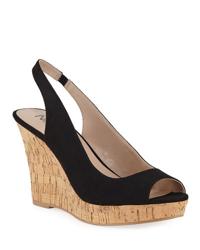 Locke Slingback Wedge Sandals