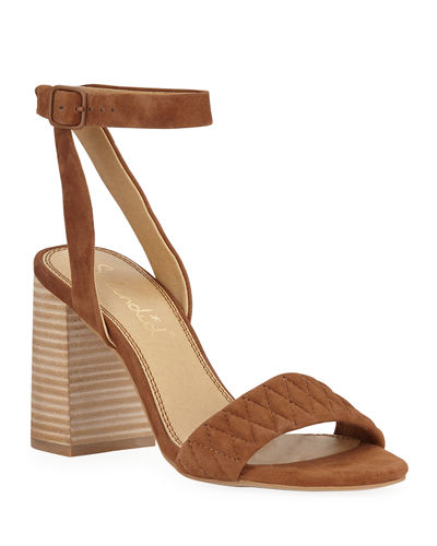 Seymore Quilted Suede Sandals