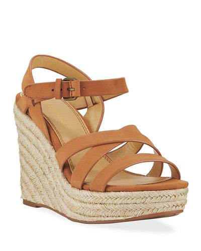 Billie Strappy Wedge Espadrilles