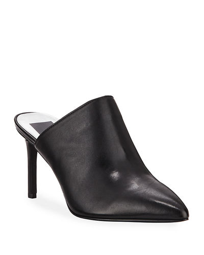 Calisto Pointed-Toe Slide Mules
