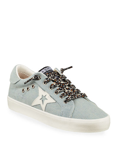 Fortune Low-Top Denim Sneakers