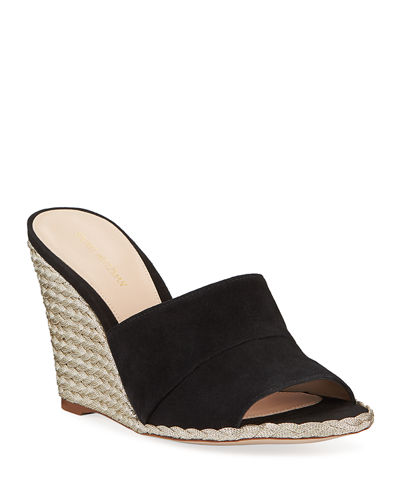 Slidewalk Metallic Wedge Espadrilles