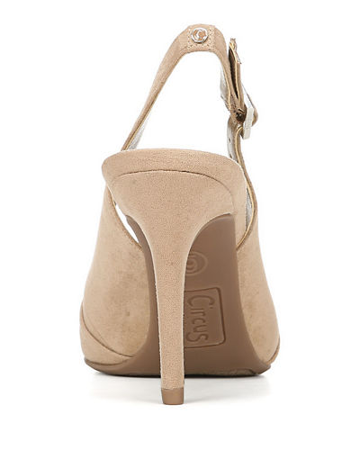 Manuela Ruched Slingback Pumps