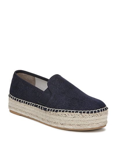 Christina Slip-On Platform Espadrilles