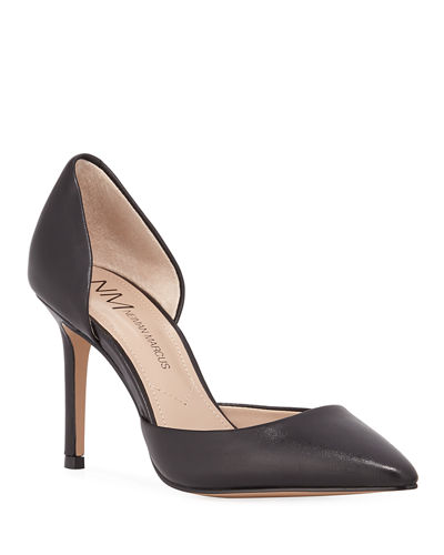 Volley Leather d'Orsay Pumps