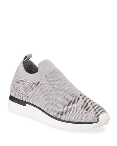 Great Slip-On Knit Sneakers
