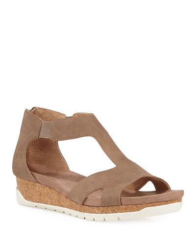 Tullio Suede Cutout Sandals