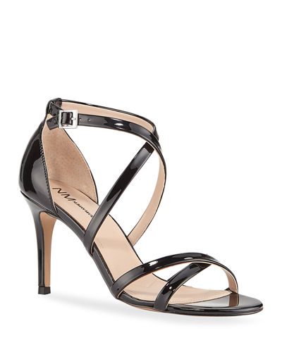 Hendrick Patent Leather Evening Sandals