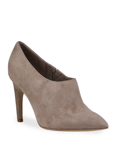 Charles by Charles David Oxy Microsuede Low-Cut Booties