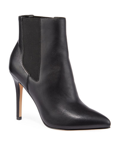 Pallazi Leather Chelsea Booties