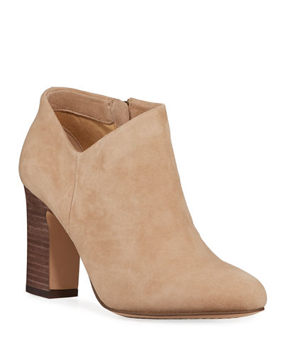 Neves Suede Ankle Booties